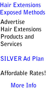 Silver advertising plan, Hair Extensions Exposed Methods